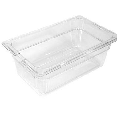 Clear Top Notch? Insert Pan Third Size - 6 pk. - Various Depths