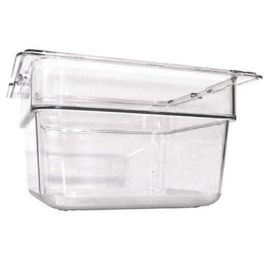 Clear Top Notch™ Insert Pan Sixth - 6 pk.