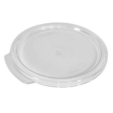 Lid For 2 & 4 Qt Round Clear - 12 Pk.