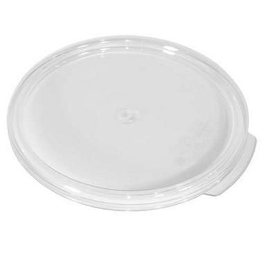 Lid For 12/18/22 Qt Round Clear - 6 Pk.