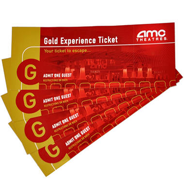 AMC MOVIE TICKETS 4 TICKETS