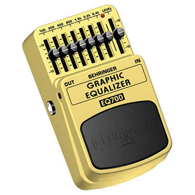 Behringer EQ700 Graphic Equalizer Guitar Pedal