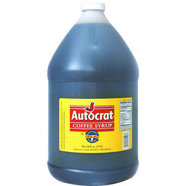 Autocrat® Coffee Syrup - 1 gal.