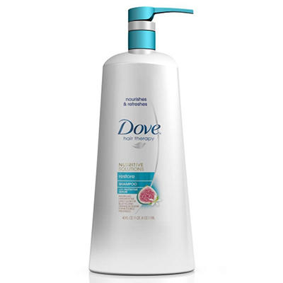 Dove Hair Therapy Shampoo, Restore - 40 oz. pump