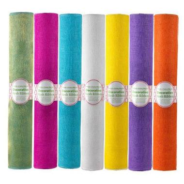 Summer Mesh Ribbon - Various Colors