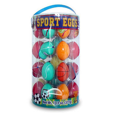 36 Count Easter Eggs - Sports