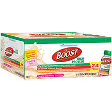 BOOST High Protein Drink - Strawberry - 24 pk.