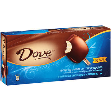 Dove Ice Cream Bars - 10 ct.