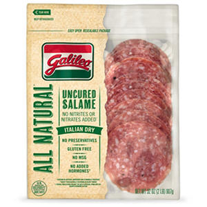 Galileo All Natural Italian Dry Salame (32 oz.)