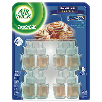 Air Wick Scented Oil Refills, Cinnabon (8 pk.)