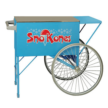 Gold Medal® 2015SKB Blue Sno Kone Cart