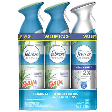 Febreze Air Effects Air Refresher, Choose Your Scent (9.7oz.,3pk.)