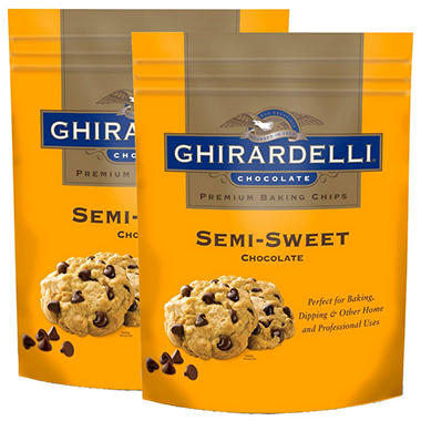 Ghirardelli Premium Baking Chips (36 oz., 2 pk.)