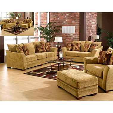 Hudson Apartment Living Room Set 3 Pc Sam 39 S Club
