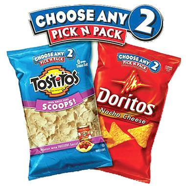 2 Bags of Pick n Pack Chips