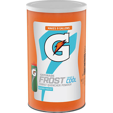 Gatorade Glacier Freeze Powder - makes 36 quarts