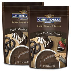 Ghirardelli Dark Chocolate Melting Wafers - 2 pk.
