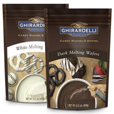 Ghirardelli Chocolate Melting Wafers Combo - 2 pk.