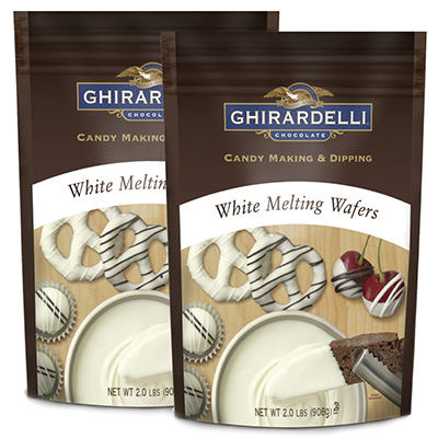 Ghirardelli White Chocolate Melting Wafers - 2 pk.