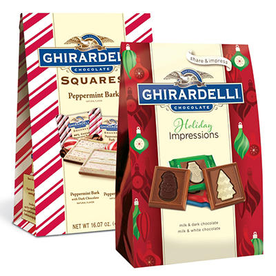 Ghirardelli Holiday Squares Combo - 2 pk.