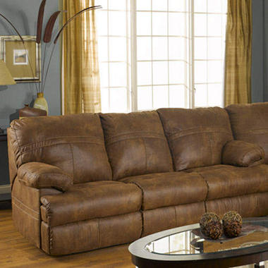 Showtime Reclining Sofa.
