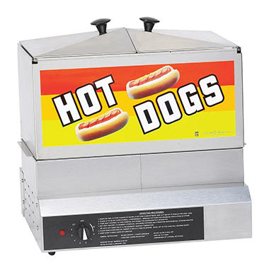 Gold Medal� 8007DE Hot Dog Steamer
