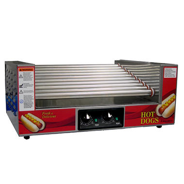 Gold Medal®  8023SL Slanted Roller Hot Dog Grill