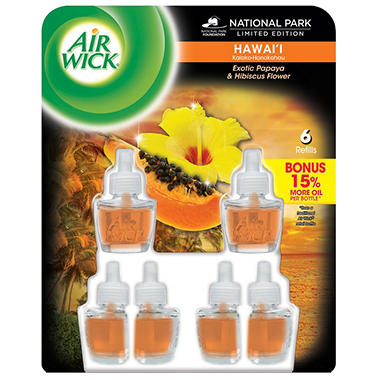 Air Wick Scented Oils - Hawaii - 6 Refills