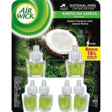 Air Wick Scented Oils - American Samoa - 6 Refills