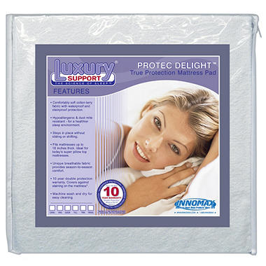 ProTec Delight Protection Mattress Pad - Twin