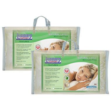 American Sleep MicroCushion Latex Pillows - Queen