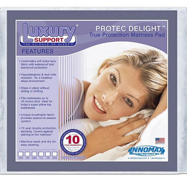 ProTec Delight Mattress Protect Pad - Queen