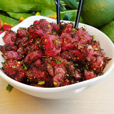 Hawaiian Select Limu Ahi Tuna Poke (5 lb. ready-to-mix kit)