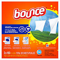 Bounce Dryer Sheets (6pk.,160ct.ea.,960 total sheets)