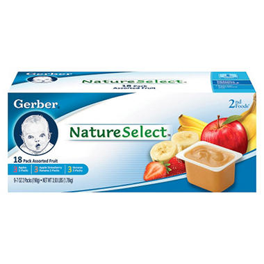 Gerber 2nd Foods Fruit - 18 pk. - 3.5 oz.