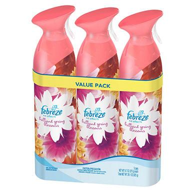 Febreze Air Effects - Spring Blossoms - 9.7 oz. - 3 pk.