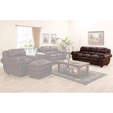 Carmella Leather Sofa