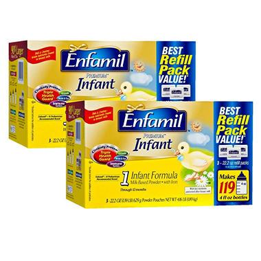 Enfamil - Premium Infant Formula Refill Pouches Premium Bundle - 2 pk.