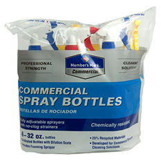 Member's Mark Commercial Spray Bottles - 6 pk.