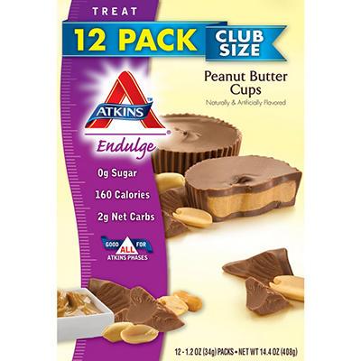 Atkins Endulge Peanut Butter Cups (1.2 oz., 12 ct.)