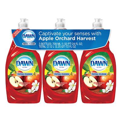 Dawn Ultra Total Clean, Apple Orchard Harvest (24 fl. oz, 3pk.)