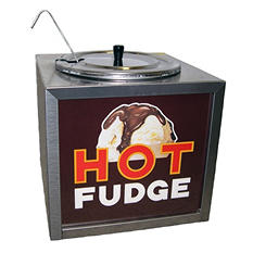 Gold Medal Hot Fudge Warmer