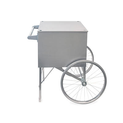 Gold Medal Stainless Steel Popcorn Cart For Use With Pop Maxx