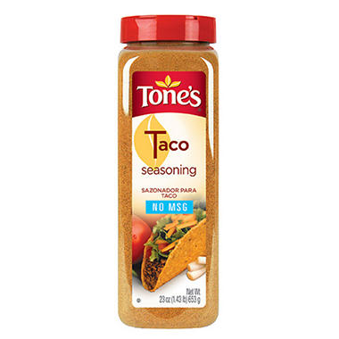 Tone's 23 oz. Taco Seasoning - 12 pk.