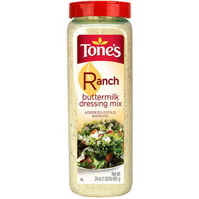 Tone's 24 oz. Buttermilk Ranch Mix - 12 pk.