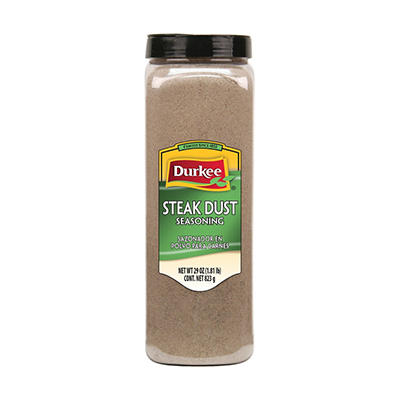 Durkee 29 oz. Steak Dust Seasoning - 6 pk.