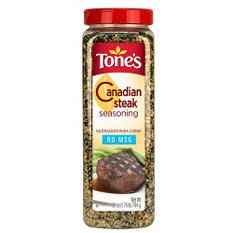 Tone's 28 oz. Canadian Steak Seasoning - 12 pk.