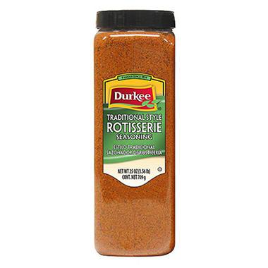 Durkee 25 oz. Rotiserrie Chicken Seasoning - 6 pk.