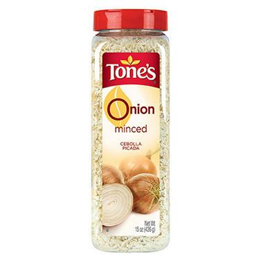 Tone's 15 oz. Minced Onions - 12 pk.