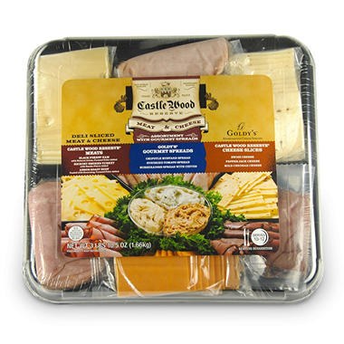 Castle Wood Meat & Cheese Party Tray